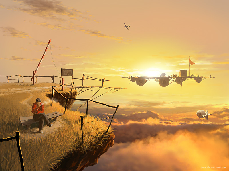 Crossing by Alex Andreev