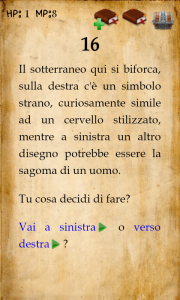 Un libro game su Android