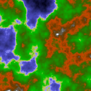 javascript generated height map