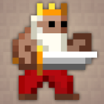 Dwarf King, from Pixel Dungeon roguelike