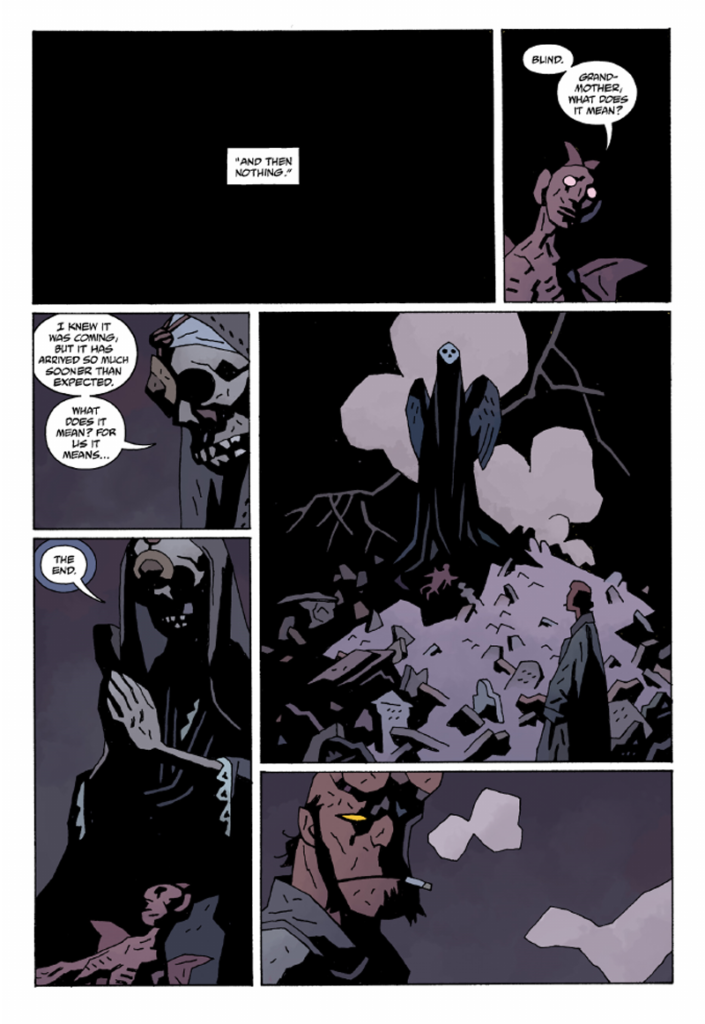 Hellboy the end